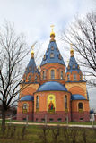 Russia. Temple of the icon of the Theotokos. Stock Photo