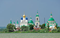 Russia. Town of Rostov the Great. Golden Ring. Russia. Town of Rostov the Great. Spaso-Jakovlev ( Spaso-Yakovlevskiy ) Dmitrievsky (Saviour - Jacob Dmitry) Stock Image