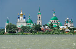 Russia. Town of Rostov the Great. Monastery Stock Photo
