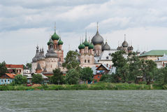 Russia. Town of Rostov the Great. Rostov Kremlin Royalty Free Stock Image