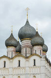 Russia. Town of Rostov the Great. Rostov Kremlin. Russia. Town of Rostov the Great. View on Rostov Kremlin. The Cathedral of the Assumption (Uspensky) . Detailed royalty free stock image