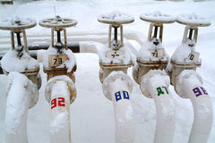 Russia.Treminal for shipment of gasoline stock photography