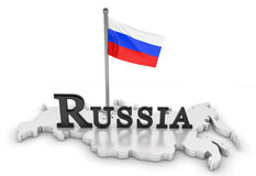 Russia Tribute Royalty Free Stock Photography