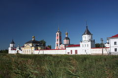 Russia. Trinity-sergiev the Varnitsky monastery. Stock Photos