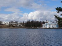Russia. A trip to Central Russia. Pushkin. Spring Stock Photography