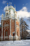 Russia Tsaritsino Estate park in Moskow Stock Photo