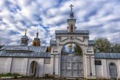 Tikhvin Bogorodichny Uspensky Monastery is an Orthodox women's m Stock Photography