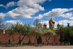 Russia Tula kremlin Stock Photography