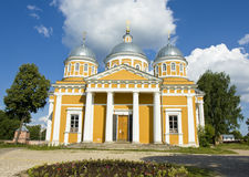 Russia, Tver, Christmas cathedral of convent Royalty Free Stock Images