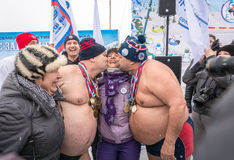 Russia, Uglich, February 07. The festival of Royalty Free Stock Photography