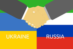 Russia and Ukraine crisis Royalty Free Stock Photo