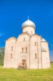 Russia Veliky Novgorod Church  Savior  Nereditsa Stock Image
