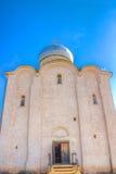 Russia Veliky Novgorod Church  Savior  Nereditsa Stock Photography