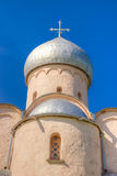 Russia Veliky Novgorod Church  Savior  Nereditsa Royalty Free Stock Photo