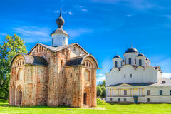 Russia Veliky Novgorod Church  St Paraskeva Speculations Dvorish Royalty Free Stock Image