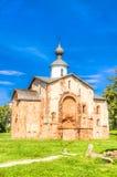 Russia Veliky Novgorod Church of St Paraskeva on Speculations Royalty Free Stock Photo