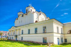 Russia Veliky Novgorod Dvorishche Cathedral of St. Nicholas Stock Photo