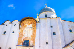 Russia Veliky Novgorod  Kremlin St. Sophia Cathedral Stock Photo