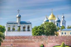 Russia Veliky Novgorod  Kremlin St. Sophia Cathedral Stock Image
