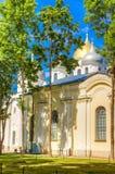 Russia Veliky Novgorod Yaroslava dvorishche  bargaining Stock Image
