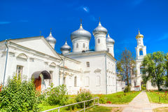 Russia Veliky Novgorod Yuriev monastery Royalty Free Stock Images