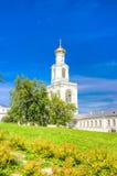 Russia Veliky Novgorod Yuriev monastery Royalty Free Stock Photo