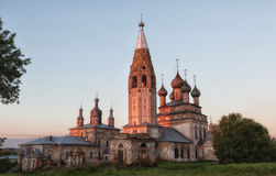 Russia, the village Parsky Royalty Free Stock Images