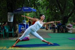 The Yoga classes