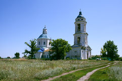 Russia. Voronezh region, church Stock Photos