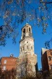 Russia, Vyborg, Clock tower Stock Photo