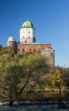 Russia, Vyborg, Medieval scandinavian castle Royalty Free Stock Image