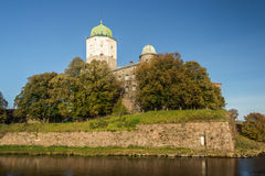 Russia, Vyborg, Medieval scandinavian castle Stock Photos