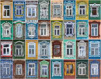 Russia. The windows of the city Suzdal. Stock Images