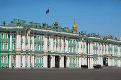 Russia. The winter Palace in St. Petersburg. St. Petersburg is a city of Northwest Russia on the river Neva. The city was founded in 1703 by Tsar Peter I Stock Photos