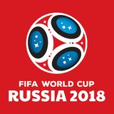 Russia world cup 2018. Illustration Royalty Free Stock Photo