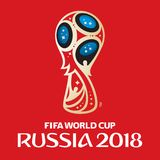 Russia world cup 2018. Vector illustration Stock Images