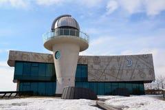 Russia, Yaroslavl-March 29.2016.  Planetarium named after Valentina Tereshkova Royalty Free Stock Photo