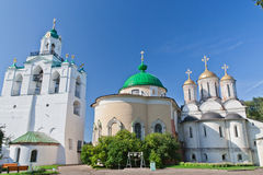 Russia, Yaroslavl. Cathedral in  Monastery Stock Photos