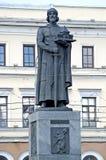 russia yaroslavl Zabytek książe Yaroslav Mądry - założyciel Yaroslavl zdjęcie royalty free