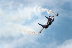 Russia. Zhukovski aviation salon. MAKS. MIG-29 OVT Stock Photography