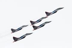 RussiaAerobatic-Team Swifts (Strizhi) Lizenzfreies Stockfoto