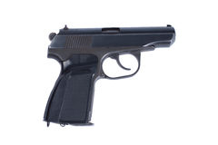 Russian 4.5mm pneumatic  handgun Stock Photography