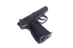 Russian 4.5mm pneumatic  handgun Stock Images