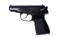 Russian 4.5mm pneumatic  handgun Royalty Free Stock Images