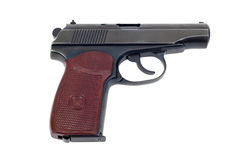 Russian 9mm handgun Stock Photography