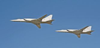 Russian Air Force Jubilee 21 Royalty Free Stock Photo