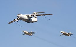 Free Russian Air Force Jubilee 5 Royalty Free Stock Photo - 3046425