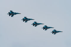 Russian air force Stock Image