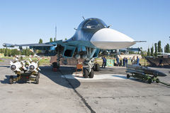Russian Air show Royalty Free Stock Images
