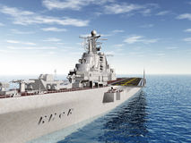 Russian Aircraft Carrier Royalty Free Stock Photo